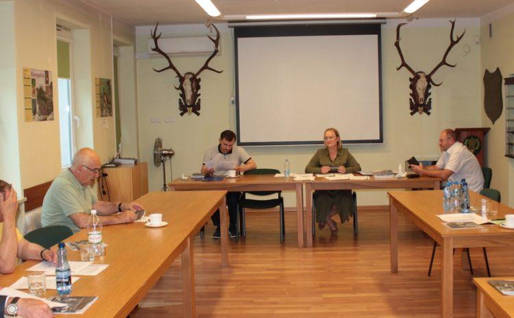 Spotkanie robocze Zarządu Okręgowego z Prezydium Okręgowego Zjazdu Delegatów PZŁ w Krakowie